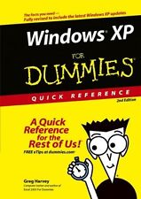 Windows XP for Dummies Quick Reference,PB,Greg Harvey - NEW