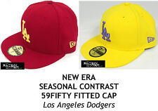 NEW ERA SEASONAL CONTRAST MLB 59FIFTY FITTED CAP - LOS ANGELES DODGERS
