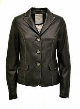 GIACCA BLAZER VERA PELLE DONNA DONNA WOMAN BLAZER REAL LEATHER JACKET