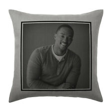 Anthony Mackie Cushion Pillow Cover Case - Silver Grey - Gift