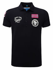 Bunker Mentality Mens Bad Mutha Putta Clubhouse Polo - Black RRP £55