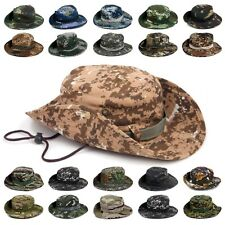 British Army Jungle Bush Hat Military GI Boonie Hunting Hiking Fishing MTP Camo