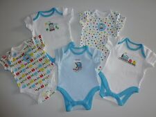 THOMAS THE TANK ENGINE and FRIENDS Pack of 5 Short Sleeve Bodysuits NWT