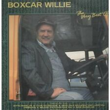 BOXCAR WILLIE Very Best Of LP VINYL 14 Track (Cst026) UK Country Store