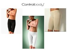 Controlbody Active Short Leggings With Aloe In Black White Or Nude
