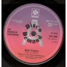 "SOUNDS OF LANCASHIRE Back To Bach 7"" VINYL A Label Disc Demand Promo B/W Sliced"