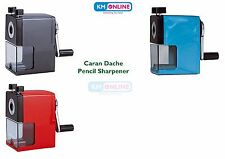 Caran Dache Pencil Sharpener Plastic Crank Desk top for all Shape Pencils Sharp