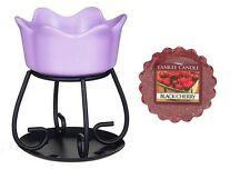 Yankee Candle Petal Bowl Tart Burner & 1 Free Wax Melt