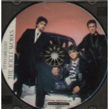 ICICLE WORKS Little Girl Lost CD 4 Track Pic Disc With Rear Insert