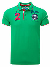 Bunker Mentality Mens Hit It Hard Clubhouse Polo - Green RRP £55
