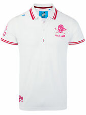 Bunker Mentality Mens Golf Punk Clubhouse Polo - White RRP £50
