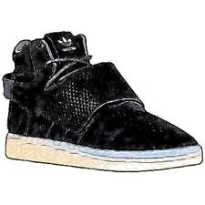 adidas Originals Tubular Invader Strap - Men's Basketball Shoes (BK/BK/Vintage