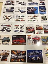 1/18 diorama FORD garage posters
