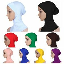 Muslim Islamic Hijab Hats Headwear Bonnet Full Cover Under Scarf Ninja Inner Cap