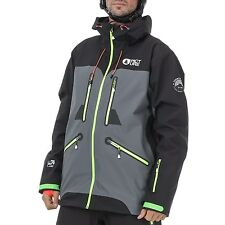 PICTURE giacca sci snowboard organic naikoon JKT a anthracite AI17