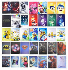 PU Leather Case for iPad Tablets Superman Batman Cartoon Magnetic Stand Cover