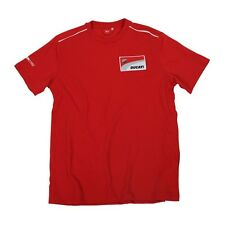 NEUF OFFICIAL DUCATI CORSE Rouge T-shirt - 13 36006