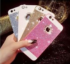 Luxury Bling Glitter Crystal Back Case Cover for iPhone SE 5S 5C 6 6S Plus