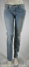 Jeans Donna Pantaloni MET Made in Italy Regular Fit Woman Trousers C446 Tg 30