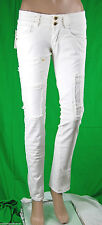 Jeans Donna Pantaloni MET  Made in Italy Slim Fit Trousers C567 Tg 27 veste 26 *