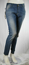 Jeans Donna Pantaloni MET Made in Italy Regular Fit Woman Trousers C504 Tg 28