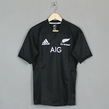 Adidas New Zealand All Blacks 2017 Adult Home Rugby Jersey Black