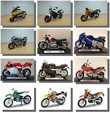 1:18 Motorbikes, Road,Racing,Dirt, TT, Scrambling etc. New & Sealed