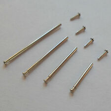 2 x WATCH 1mm Pressure Bars Pins & Rivet Ends Replacements for Bracelets Straps