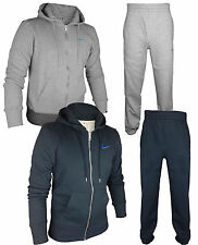 Mens NIKE Athletic Dept. Fleece Tracksuit Full Zip Hoodie Top & Jogging Bottoms