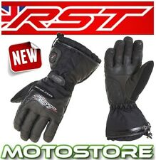 RST THERMOTECH LITHIUM BATTERY HEATED WP THERMAL WINTER WATERPROOF BLACK GLOVES
