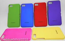 PREMIUM IMPORTED RUBBER COATED HARD BACK COVER CASE FOR BLACKBERRY Z10 BY WYZAQ