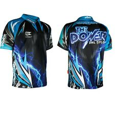 Phil Taylor Cool Play Authentic Replica Dart Shirt by Target - All Sizes - 2017
