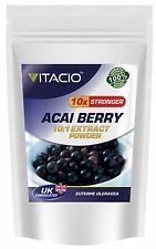 Acai Berry 10:1 Extract Powder, 50g - 100g, Antioxidant, Weight Loss, Diet