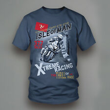 ISOLA DI MAN EXTREME RACING t-shirt stampata