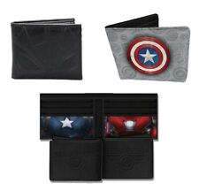 Genuine Marvel Comics, Captain America Civil War, Iron Man Bi-Fold Wallet Boxed