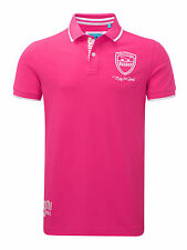 Bunker Mentality Mens Plays Superb Clubhouse Polo - Hot Pink RRP £50