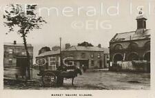 Kildare Town the old Market Square vintage style Old Irish Photo - Size Select