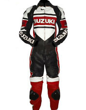 Suzuki Riper New Motorbike Racing Leather Suit Racing Motorcycle Cowhide Suit