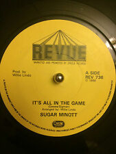 """Sugar Minott - It's All In The Game 7"""""""