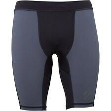 Reebok Mens UFC Fight Compression Shorts Alloy  RRP 39.99£