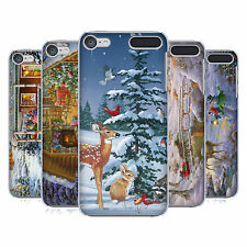 OFFICIAL CHRISTMAS MIX WINTER WONDERLAND HARD BACK CASE FOR APPLE iPOD TOUCH MP3
