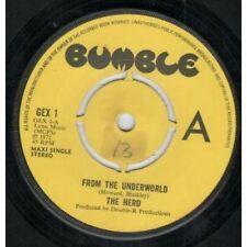 """HERD From The Underworld 7"""" VINYL 3 Track Reissue B/W Paradise Lost And On My"""