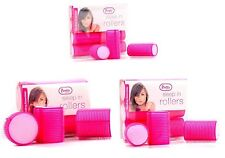 PRETTY PINK SOFT HAIR ROLLERS PERFECT FOR SLEEPING IN CURLING ACCESSORY