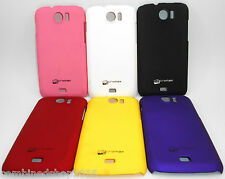 IMPORTED HARD BACK COVER CASE FOR MICROMAX CANVAS 2 A110, CANVAS 2+ A110Q