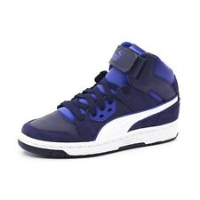 SCARPE PUMA REBOUND STREET SD JR junior basket blu 358585 05