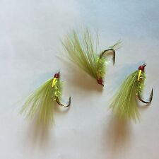 SFFT Trout Flies Cormorant Olive Sparkle