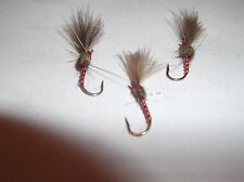 SFFT Trout Flies Dries CDC Red