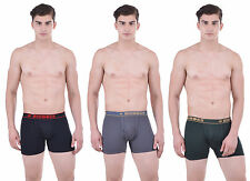 Dollar Bigboss Men's Interlock Trunk (Pack of 3) (1BB-SCD-BLK-SG-BGREEN)