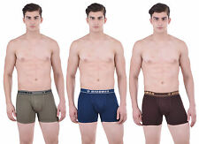 Dollar Bigboss Men's Interlock Trunk (Pack of 3) (BB-SCD-BGREEN-AFB-COFE)