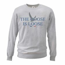 Adults Grey The Goose Is Loose Sweatshirt French Vodka Jumper X-Mas Gift Idea